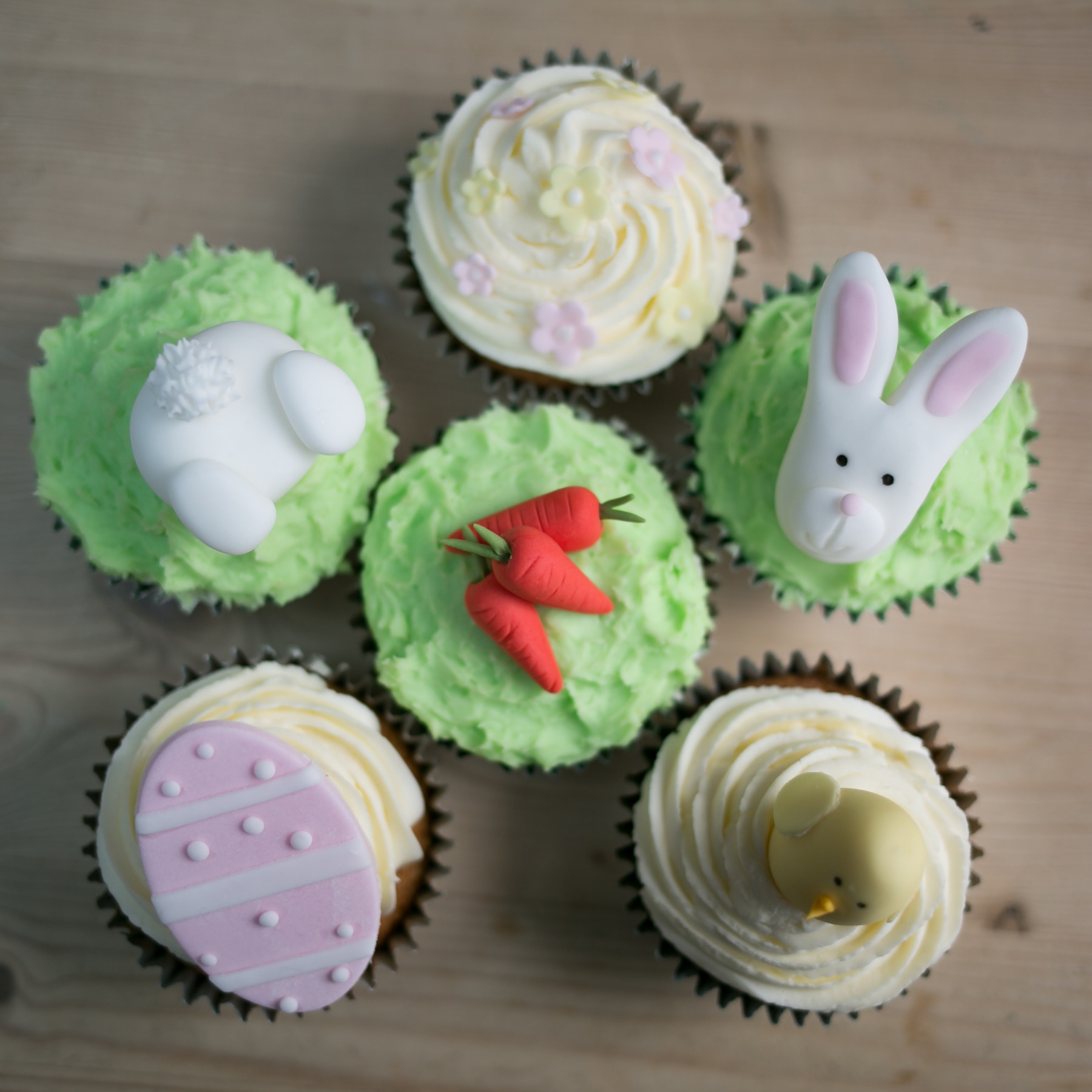 Easter Cupcake Decorating Class Cake By Chloe