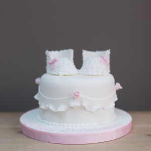 Blossom Booties Cake