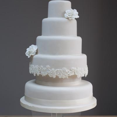 Wedding & Tiered Cake Class - Intermediate